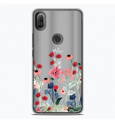 Coque en silicone Wiko View 2 - Printemps en fleurs