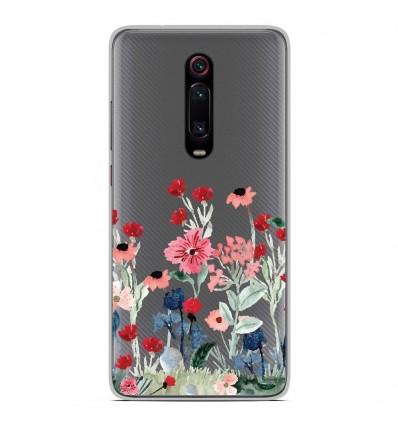 Coque en silicone Xiaomi Mi 9T - Printemps en fleurs