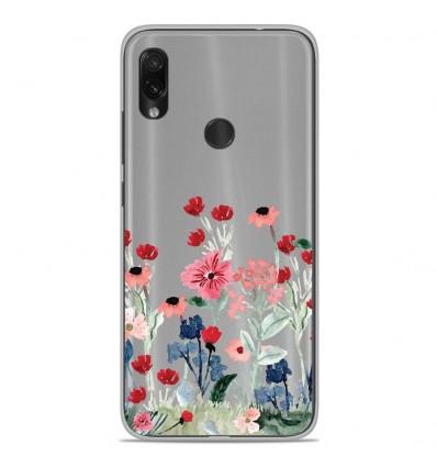 Coque en silicone Xiaomi Redmi Note 7 / Note 7 Pro - Printemps en fleurs