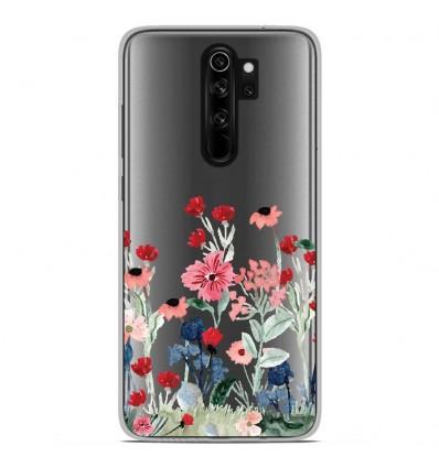 Coque en silicone Xiaomi Redmi Note 8 Pro - Printemps en fleurs