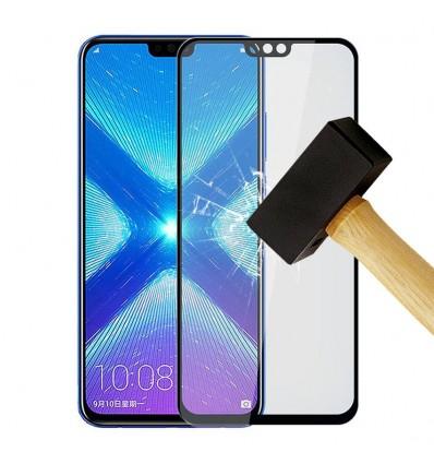 Film verre trempé 4D - Huawei Honor 8X Noir protection écran