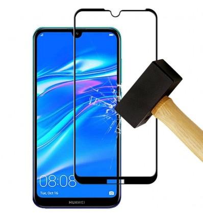 Film verre trempé 4D - Huawei Y6 2018 Noir protection écran