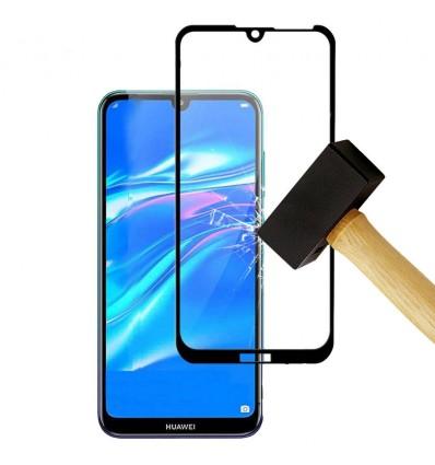 Film verre trempé 4D - Huawei Y6 2019 Noir protection écran