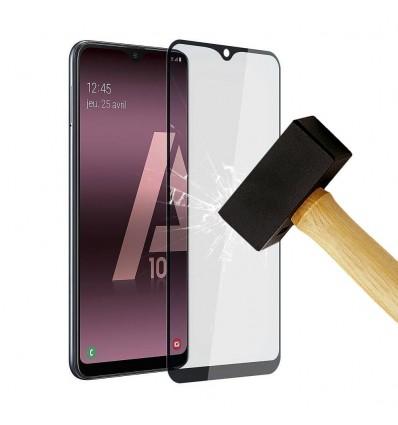 Film verre trempé 4D - Huawei Y7 2019 Noir protection écran