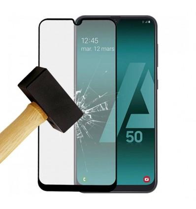Film verre trempé 4D - Samsung Galaxy A10 Noir protection écran