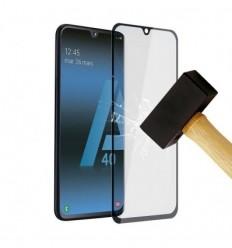 Film verre trempé 4D - Samsung Galaxy A20e Noir protection écran