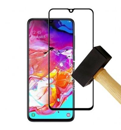 Film verre trempé 4D - Samsung Galaxy A6 2018 Noir protection écran