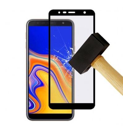 Film verre trempé 4D - Samsung Galaxy A70 Noir protection écran