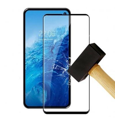Film verre trempé 4D - Samsung Galaxy A7 2018 Noir protection écran