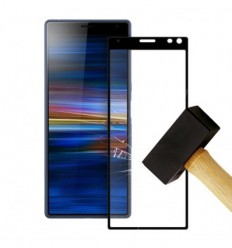 Film verre trempé 4D - Samsung Galaxy S10 Noir protection écran