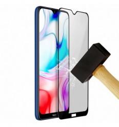 Film verre trempé 4D - Samsung Galaxy S8 Noir protection écran