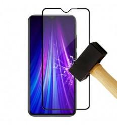 Film verre trempé 4D - Xiaomi Redmi Note 8 Noir protection écran