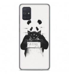 Coque en silicone Samsung Galaxy A51 - BS Bad Panda