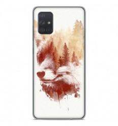 Coque en silicone Samsung Galaxy A51 - RF Blind Fox