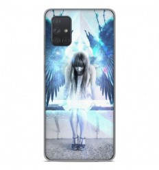 Coque en silicone Samsung Galaxy A51 - Angel