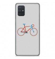 Coque en silicone Samsung Galaxy A51 - Bike color Hipster