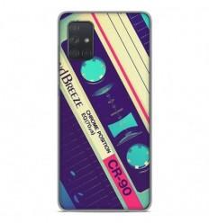 Coque en silicone Samsung Galaxy A51 - Cassette Vintage