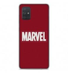 Coque en silicone Samsung Galaxy A51 - Marvel