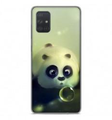 Coque en silicone Samsung Galaxy A51 - Panda Bubble