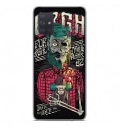 Coque en silicone Samsung Galaxy A51 - Skull Urgh