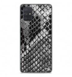 Coque en silicone Samsung Galaxy A51 - Texture Python