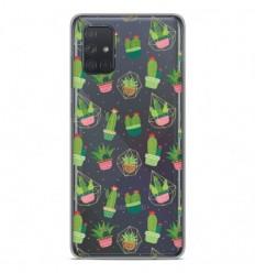 Coque en silicone Samsung Galaxy A51 - Cactus
