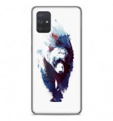 Coque en silicone Samsung Galaxy A71 - RF Death Run