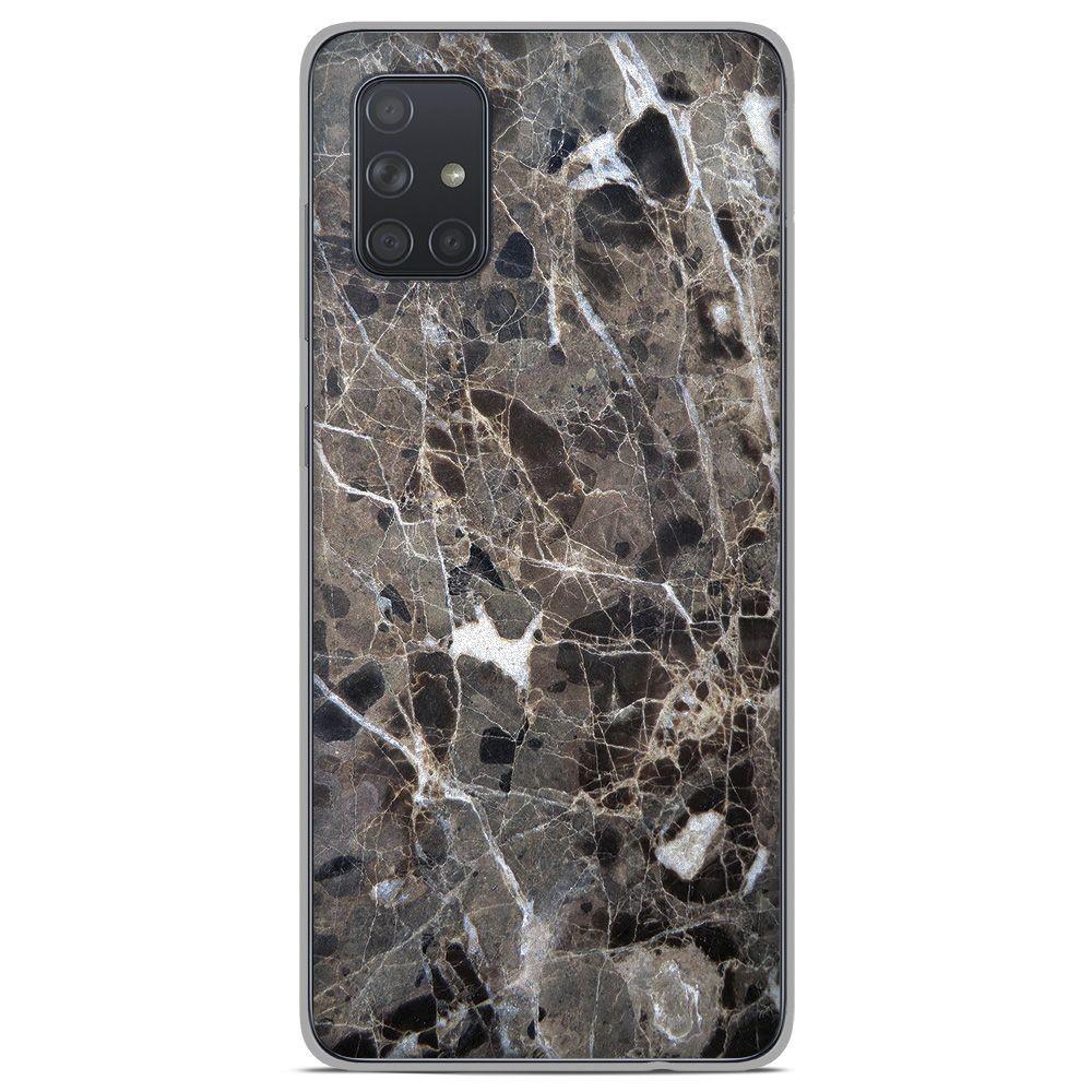 Coque en silicone Samsung Galaxy A71 - Marbre