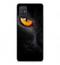 Coque en silicone Samsung Galaxy A71 - Oeil de Panterre