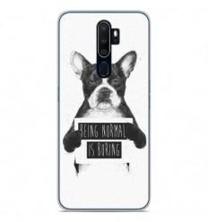Coque en silicone Oppo A5 2020 - BS Normal boring