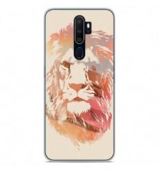 Coque en silicone Oppo A5 2020 - RF Desert Lion