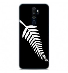 Coque en silicone Oppo A5 2020 - Drapeau All-black