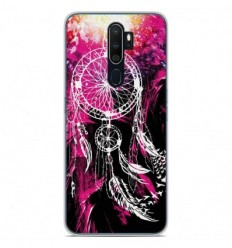 Coque en silicone Oppo A5 2020 - Dreamcatcher Rose