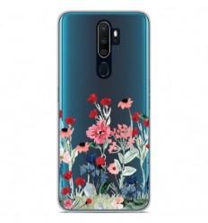 Coque en silicone Oppo A5 2020 - Printemps en fleurs