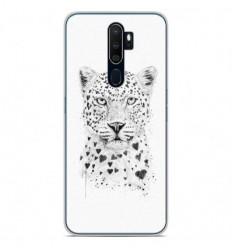 Coque en silicone Oppo A9 2020 - BS Love leopard