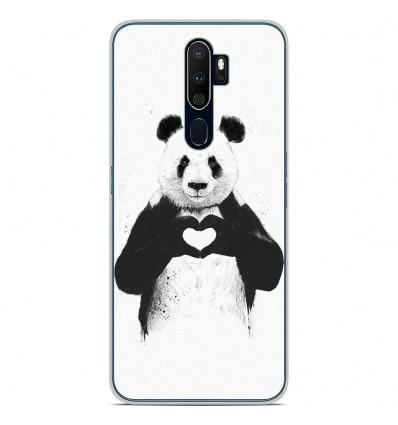 Coque en silicone Oppo A9 2020 - BS Love Panda