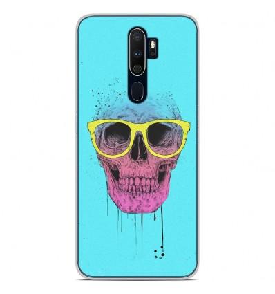 Coque en silicone Oppo A9 2020 - BS Skull glasses