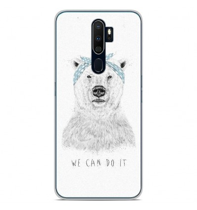 Coque en silicone Oppo A9 2020 - BS We can do it