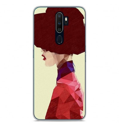 Coque en silicone Oppo A9 2020 - ML Chic Hat