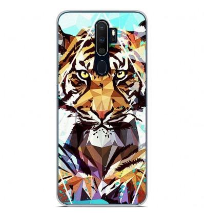 Coque en silicone Oppo A9 2020 - ML It Tiger
