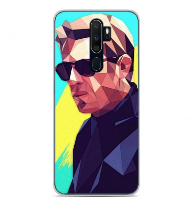 Coque en silicone Oppo A9 2020 - ML King of Cool