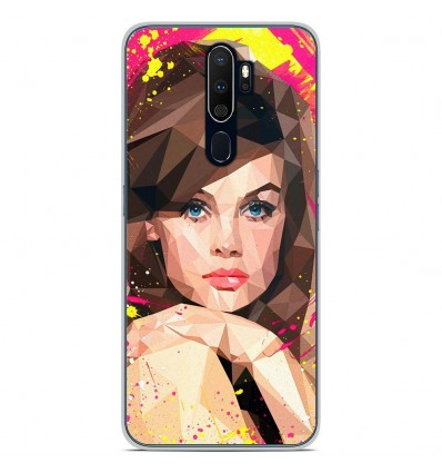Coque en silicone Oppo A9 2020 - ML Vogue Muse