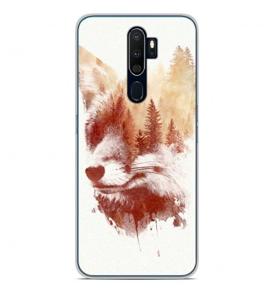 Coque en silicone Oppo A9 2020 - RF Blind Fox