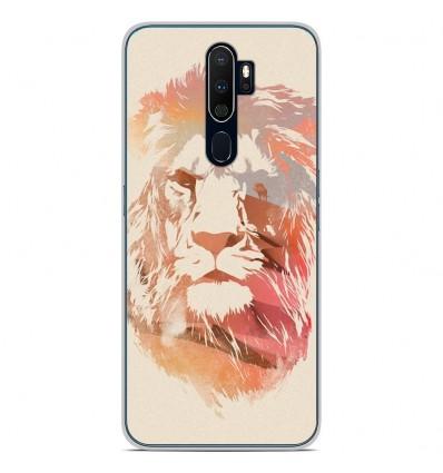 Coque en silicone Oppo A9 2020 - RF Desert Lion
