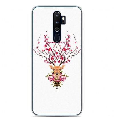 Coque en silicone Oppo A9 2020 - RF Spring deer