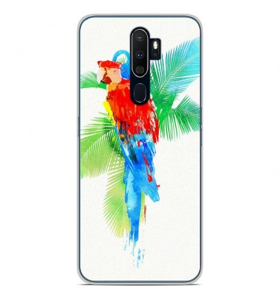 Coque en silicone Oppo A9 2020 - RF Tropical party