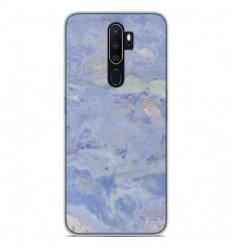 Coque en silicone Oppo A9 2020 - Marbre Bleu