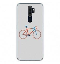 Coque en silicone Oppo A9 2020 - Bike color Hipster