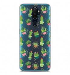 Coque en silicone Oppo A9 2020 - Cactus