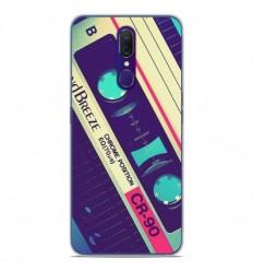 Coque en silicone Oppo A9 - Cassette Vintage